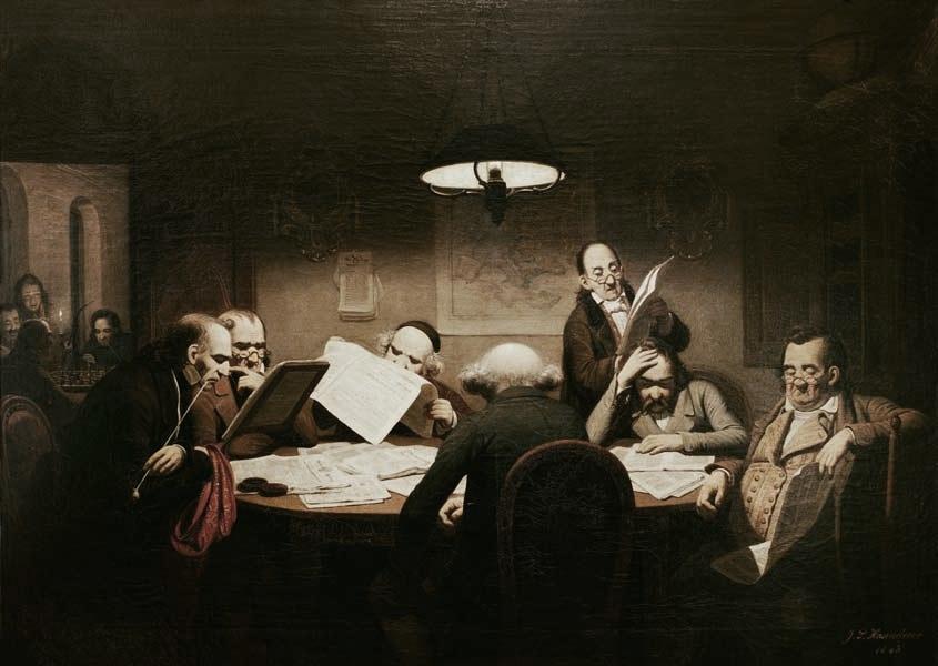 """Theatre Blog: """"Café Variations"""" – Café Culture History, Part 2: Café Culture and the Age of Enlightenment"""